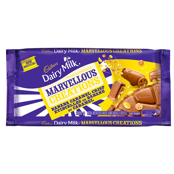 Cadbury Marvellous Creations - Banana Caramel Crisp - 200g