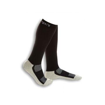 Dr. Segal's Men's Energy Socks - Black - Size 6.5-8.5