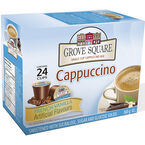 Grove Square Cappuccino - French Vanilla - 24 pack