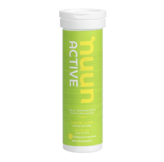 Nuun Active Effervescent Electrolyte Supplement - Lemon Lime - 10's
