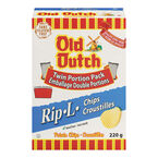 Old Dutch Rip-L Chips - Original - 220g Box