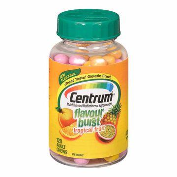 Centrum Flavour Burst Adult - Tropical - 120's