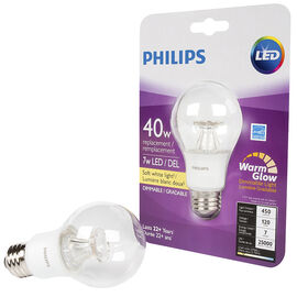 Philips Perform Plus A19 LED Bulb - Soft White - 40W