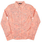 Coupe Rose Blouse - Assorted - S-XL