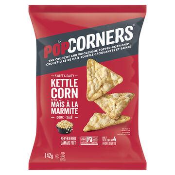 Popcorners Popped Corn Chips - Kettle -142g