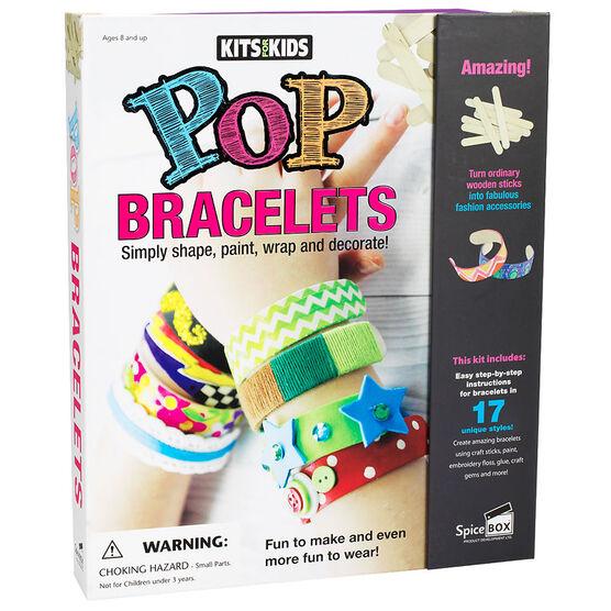 Spicebox Kits for Kids Pop Bracelets