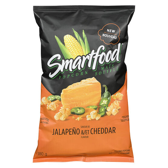 Smartfood Popcorn - Jalapeno & Cheddar - 180g