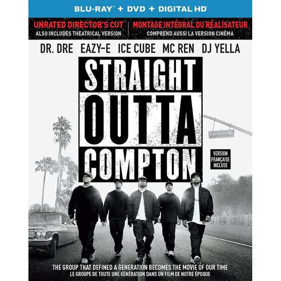 Straight Outta Compton - Blu-ray + DVD