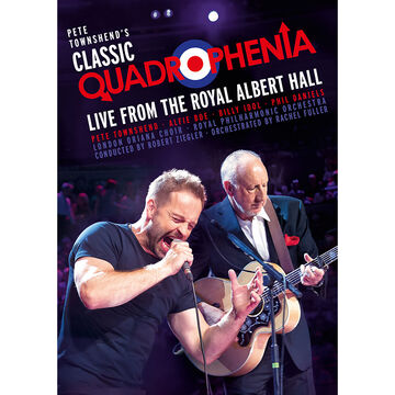 Pete Townshend's Classic Quadrophenia: Live from the Royal Albert Hall - DVD