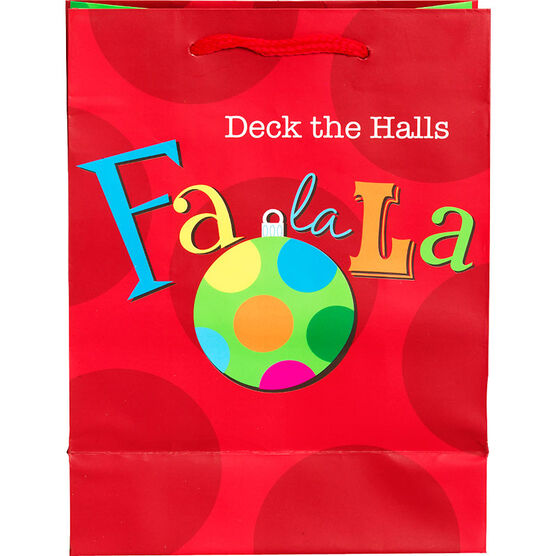 Plus Mark Frosty Gift Bag - Small - Assorted