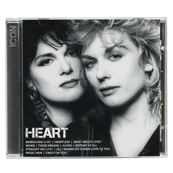Heart - Icon - CD