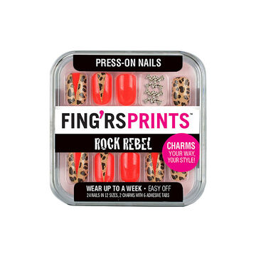 Fing'rs Prints Rock Rebel Press-On Nails