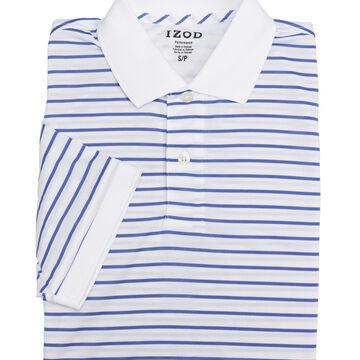 Izod Men's Feeder Stripe Performance Polo - Assorted - Sizes S-XXL