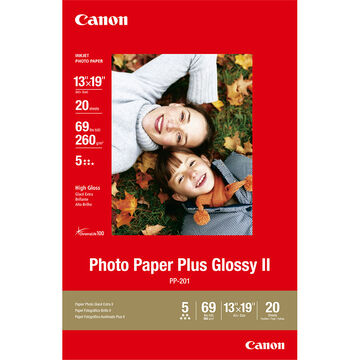 Canon PP-201 Photo Paper Plus Glossy 2 - 13 x 19 inch(A3+) - 20 sheets - 2311B026