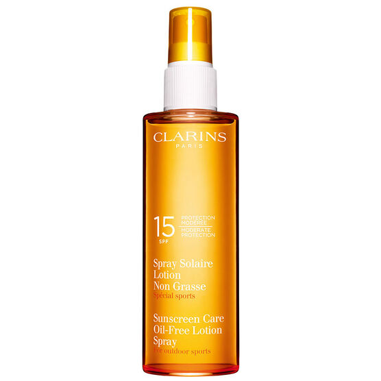 Clarins Sunscreen Spray Oil-Free Lotion SPF 15 - 150ml