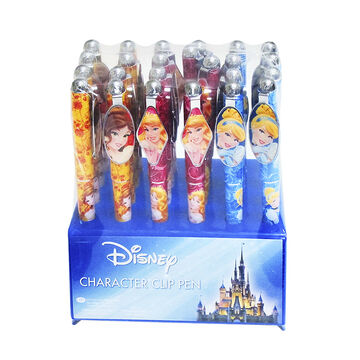 Cinderella, Aurora and Belle Pen - Assorted