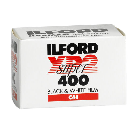 Ilford XP2 Super 400 Black & White 135-36