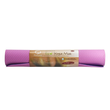 PurEarth TPE Mat - Orchard Pink
