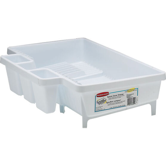 Rubbermaid Space-Saver Drainer - White