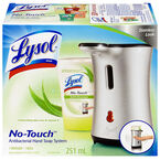 Lysol No-Touch Hand Soap Dispenser Kit - Stainless