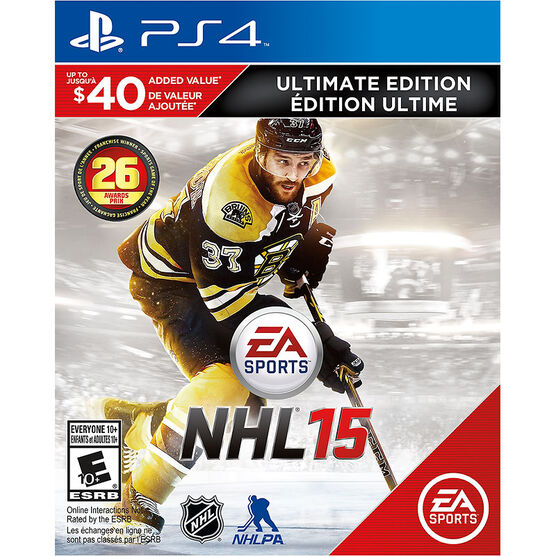 PS4 NHL 15 Ultimate Edition