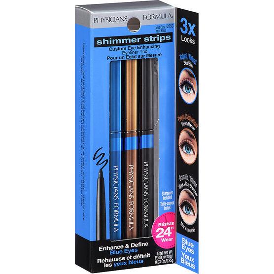Physicians Formula Shimmer Strips Custom Eye Enhancing Eyeliner Pencil Trio or Gel CreamLiner Trio