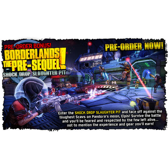 PC Borderlands Pre-Sequel