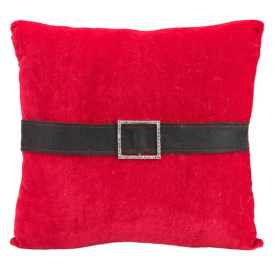 Christmas Santa Surprise Cushion - Assorted - 11x11-inch