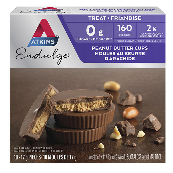 Atkins Endulge Peanut Butter Cups - 5 x 34g packs