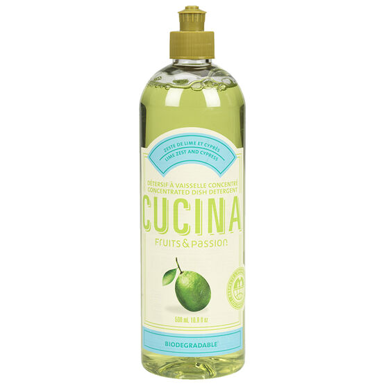 Fruit & Passion Cucina Dish Soap - Lime Zest and Cypress