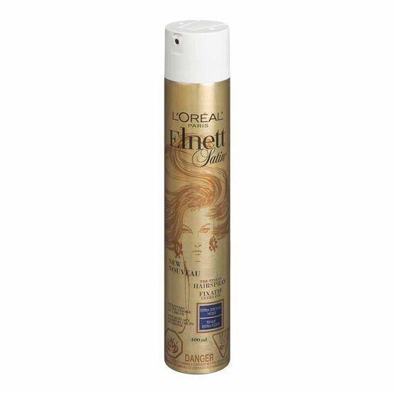 L'Oreal Elnett Hairspray - Extra-Strong Hold - 400ml
