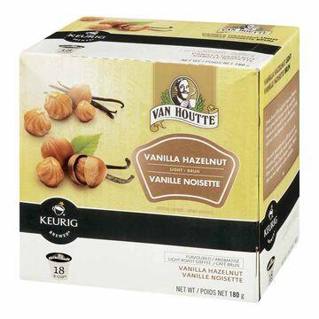 Keurig K-Cup Van Houtte Coffee Pods - Vanilla Hazelnut - 18's