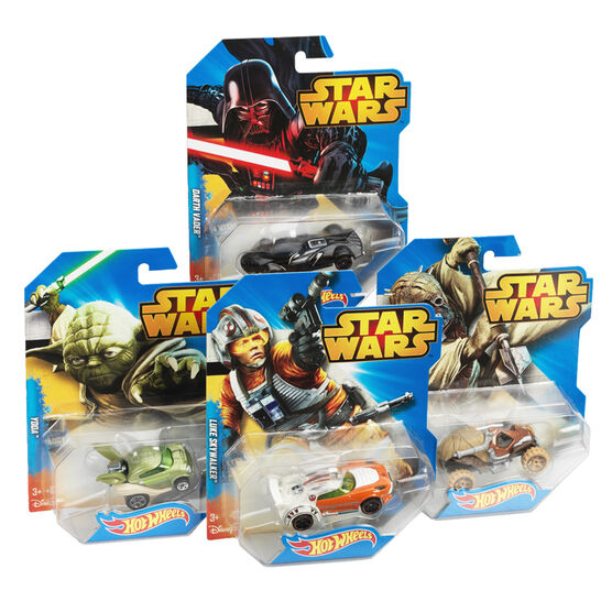 Hot Wheels Star Wars Character Cars - Assorted