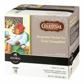 Keurig K-Cup Celestial Seasonings Herbal Tea Pods - Sleepytime - 18's