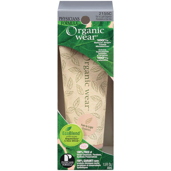Physicians Formula Organic wear 100% Natural Origin Tinted Moisturizer - Fair to Light Organics