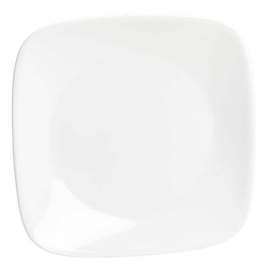 Corelle Square Pure White Bread and Butter Plate - 6.5inch
