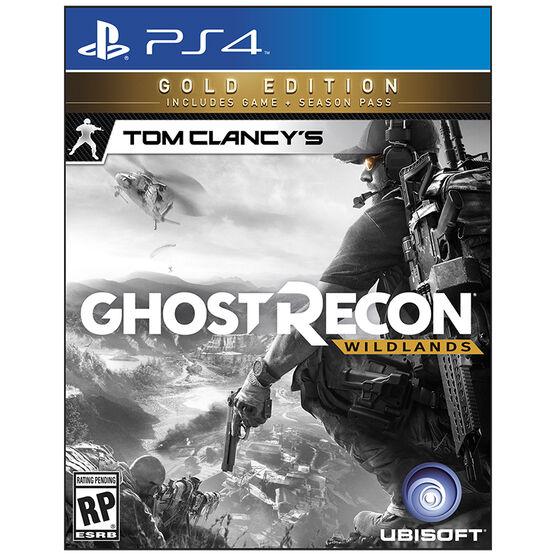 PRE-ORDER: PS4 Tom Clancy's Ghost Recon Wildlands Gold Edition
