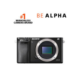 Sony a6000 Body - Black - ILCE6000B