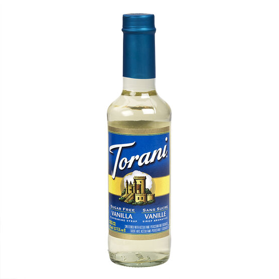 Torani Vanilla Syrup Sugarfree - 375mL - 42381