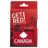 K/N Canada Passport Holder - Red - 55102