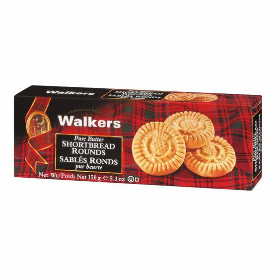 Walkers Shortbread Rounds - 150g