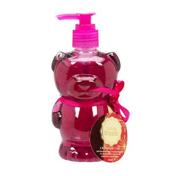 Holiday Treat Pump Hand Soap Bear - Cranberry Tart - 260ml