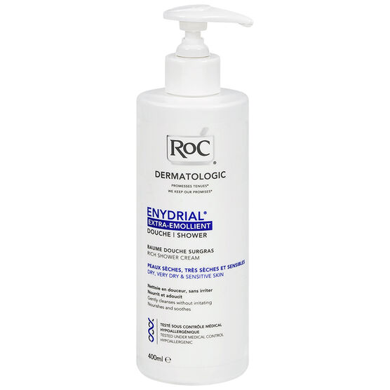 RoC Enydrial Extra-Emollient Rich Shower Cream - 400ml
