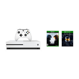 Xbox One 1TB Console S Halo 5 + Master Chief Collection Bundle