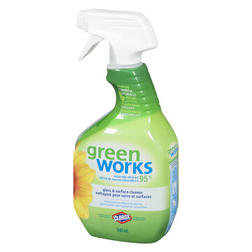 Green Works Glass and Surface Cleaner - 946ml