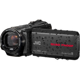 JVC GZ-R440BU Quad Proof Everio Full HD Camcorder - Black - GZ-R440BU