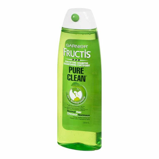 Garnier Fructis Pure Clean Fortifying Shampoo - 384ml