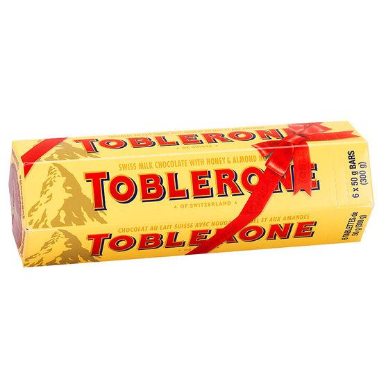 Toblerone Bundle - 6 x 50g