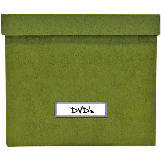 Vista DVD Storage - Green - 3 Pack
