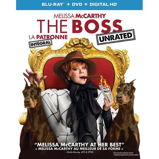 The Boss - Blu-ray